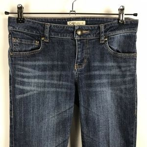 CAbi Bootcut Blue Jeans Style 967L Size 4